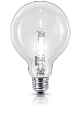 Philips Leuchtmittel Globe EcoClassic Halogenlampe Lampe Licht Klar 42W