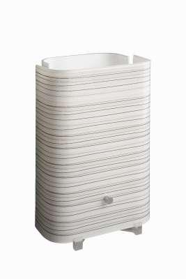 Tischleuchte Galba Modern Leuchte Tischlampe Lampe Weiß