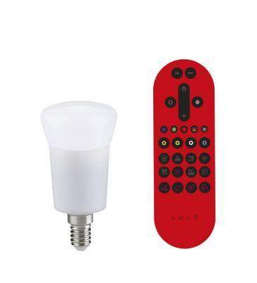 Leuchten Direkt LED Lampe E14 Leuchtmittel Fernbedienung Dimmbar RGB 350lm