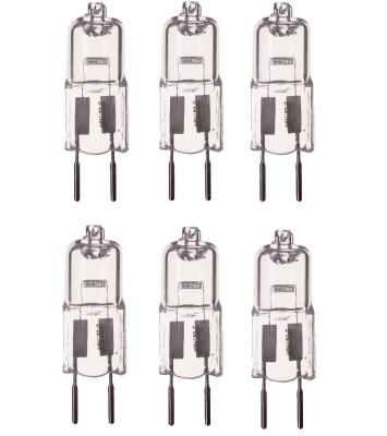 6er Set Halogen Leuchtmittel GY6,35 Sockel Halogenleuchtmittel 35W Lampe