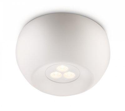 Philips Ledino Deckenleuchte Weiß LED Design Deckenlampe 6W Ø 12cm