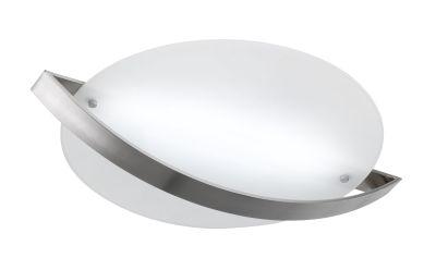 Wofi LED Deckenleuchte Modo Nickel matt Rund Design Ø 50cm 2160lm Dimmbar