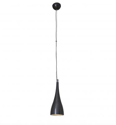 LED Hänge-/Pendelleuchte Metall Silber 8W 640lm Ø15cm Höhe 150cm Industriedesign