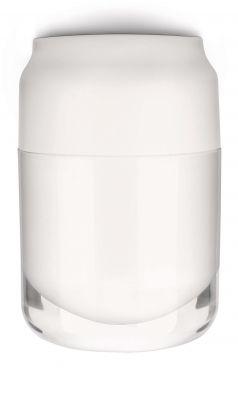Philips Deckenleuchte Energiesparleuchte Weiß Metall Glas E27 15W/230V 900lm