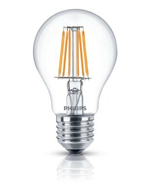 Dekorative Philips LED Lampe Glühbirne Leuchtmittel Deco Classic Klar E27 Leuchte 7,5W