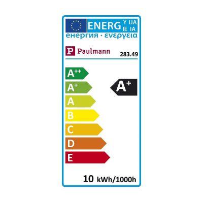 Paulmann LED Lampe Glühbirne E27 Leuchtmittel 10W Dimmbar Warmweiß