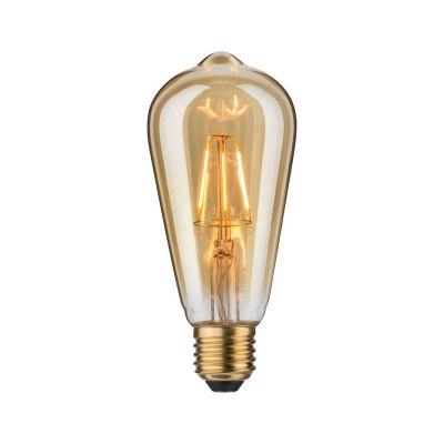 Paulmann LED Vintage Kolben Leuchtmittel Gold Ø 64mm E27 Goldlicht