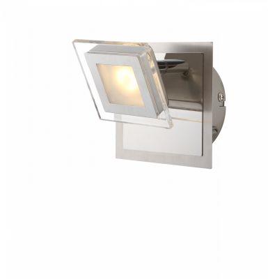 Cholet LED Wandleuchte Strahler 5W/230V Nickel Matt Schwenkbar 3000K 1800lm