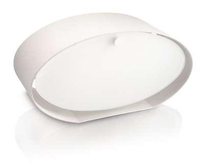 Philips myLiving Tischleuchte Energiespar Tischlampe Douro Weiß
